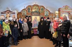 """В дар Карасукской епархии передана икона Божией Матери """"Иверская"""""""