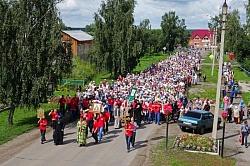 Традиционный крестный ход, посвященный памяти преподобного Серафима Саровского, пройдет в селе Турнаево